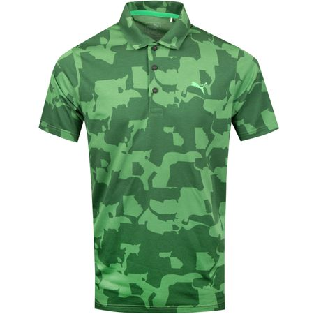 Golf undefined LE Union Camo Polo Juniper - SS19 made by Puma Golf