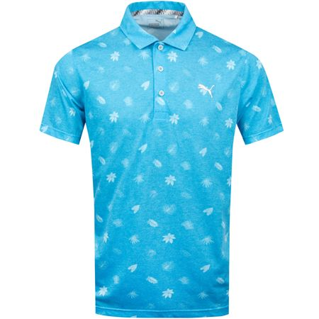 Golf undefined Verdant Polo Bleu Azur - SS19 made by Puma Golf