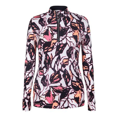 Golf undefined Tail Bloom Print 1/4 Zip made by Tail Activewear