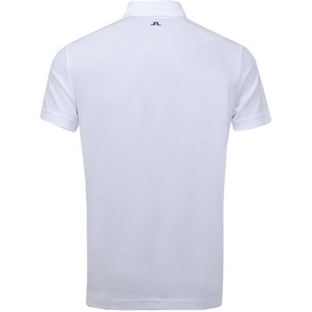 Golf undefined Leo Regular Lux Pique White - SS19 made by J.Lindeberg