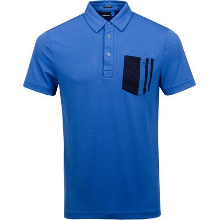 Golf undefined Owen Regular Lux Pique Work Blue - SS19 made by J.Lindeberg