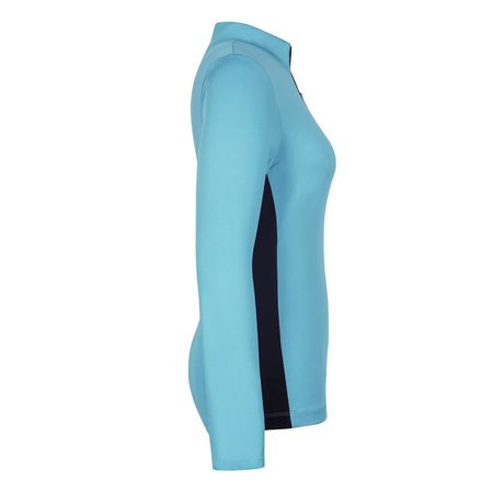 Golf undefined Tail Solid Long Sleeve 1/4 Zip made by Tail Activewear