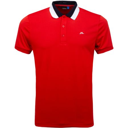 Golf undefined Mat Regular TX Jersey Deep Red - SS19 made by J.Lindeberg
