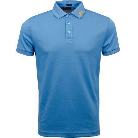 Golf undefined Lux KV Regular Fit TX Jacquard Ocean Blue - SS19 made by J.Lindeberg