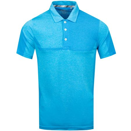 Golf undefined Evoknit Breakers Polo Bleu Azur Heather - SS19 made by Puma Golf