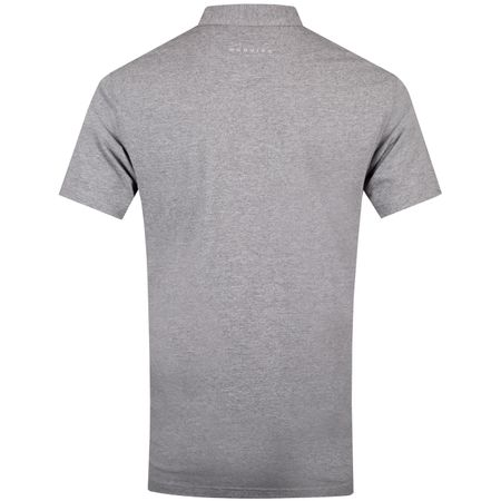 Golf undefined Quin Natural Hand Polo Grey Heather/Peach Heather - SS19 made by Dunning
