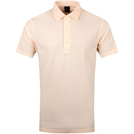 Golf undefined Natural Hand Polo Peach Heather - SS19 made by Dunning