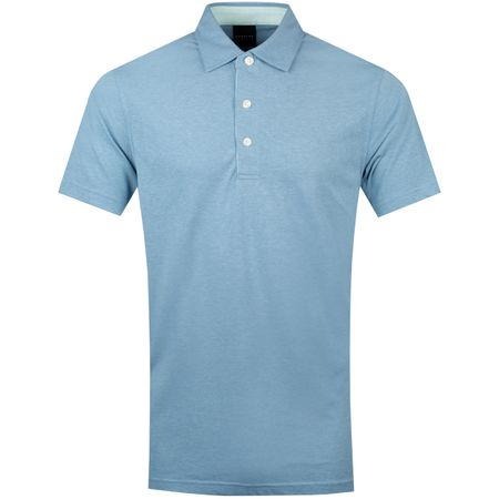 Golf undefined Quin Natural Hand Polo Turf Heather/Basil Heather - SS19 made by Dunning