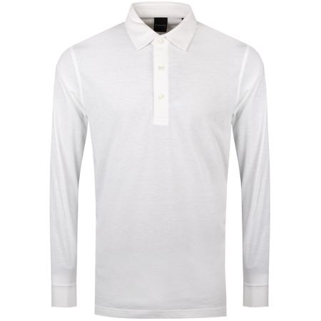 Golf undefined Vance LS Natural Hand Polo White - SS19 made by Dunning