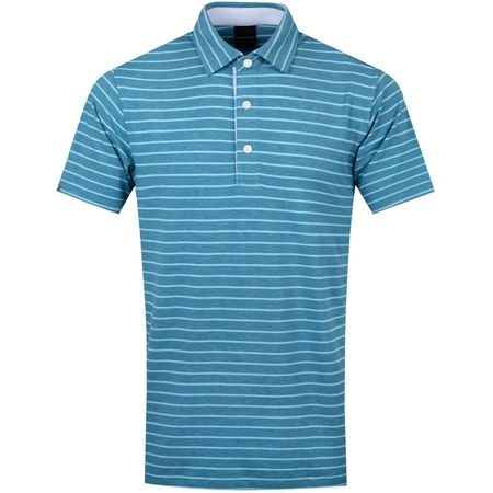 Golf undefined Rathmore Natural Hand Polo Eclipse Heather/Lark Heather - SS19 made by Dunning