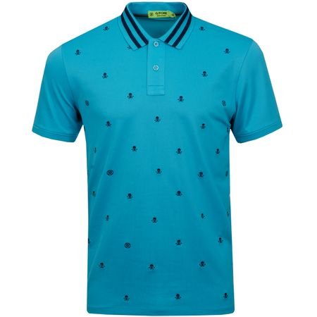 Golf undefined Skull & T's Embroidered Polo Bluebird - SS19 made by G/FORE