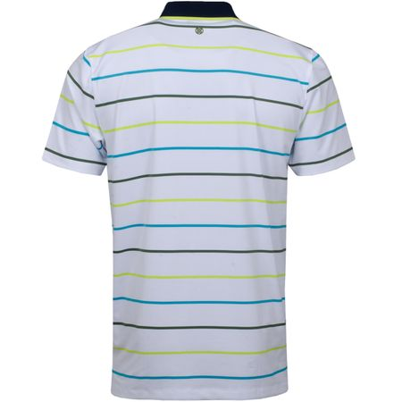 Golf undefined Multi Stripe Polo Bluebird - SS19 made by G/FORE