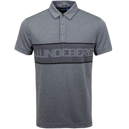 Golf undefined Ade Regular Fit TX Jacquard Dark Grey Melange - SS19 made by J.Lindeberg