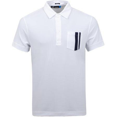 Golf undefined Owen Regular Lux Pique White - SS19 made by J.Lindeberg
