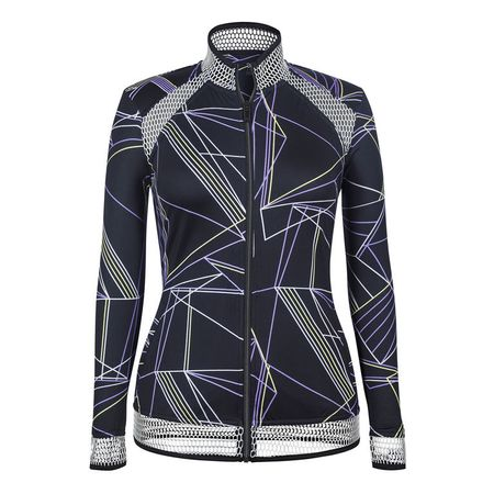 Golf undefined Tail Profile Print Full-Zip Jacket made by Tail Activewear