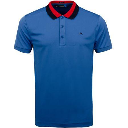 Golf undefined Mat Regular TX Jersey Work Blue - SS19 made by J.Lindeberg