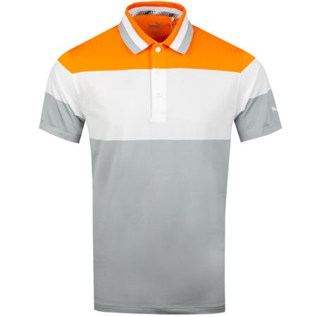 Golf undefined Nineties Polo Vibrant Orange - SS19 made by Puma Golf