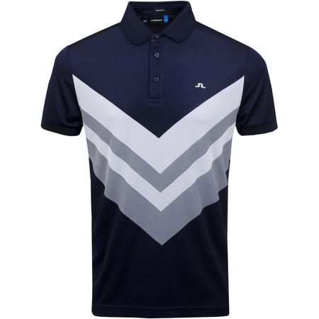 Golf undefined Ace Regular Fit TX Jacquard JL Navy - SS19 made by J.Lindeberg