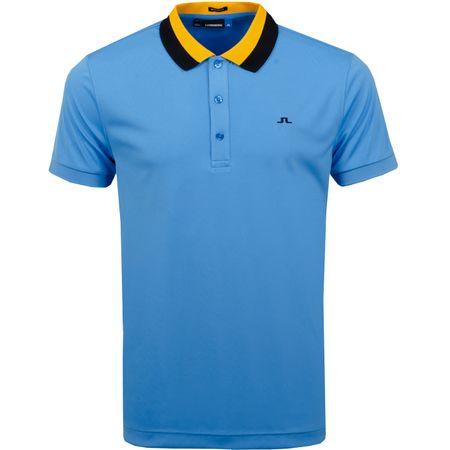Golf undefined Mat Regular TX Jersey Ocean Blue - SS19 made by J.Lindeberg