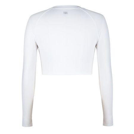 Golf undefined Tail Sasha Long Sleeve Crop Top made by Tail Activewear