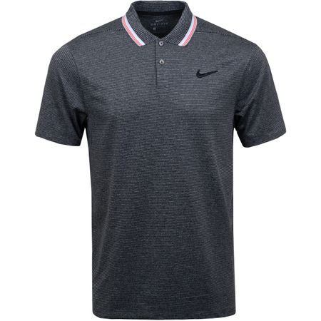 Golf undefined Dry-Fit Vapor Control Stripe Polo Black - SS19 made by Nike Golf