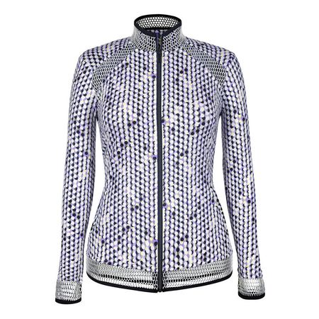 Golf undefined Tail Speckle Print Full-Zip Jacket made by Tail Activewear