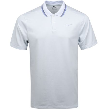 Polo Dry-Fit Vapor Control Stripe Polo Pure Platinum - SS19 Nike Golf Picture