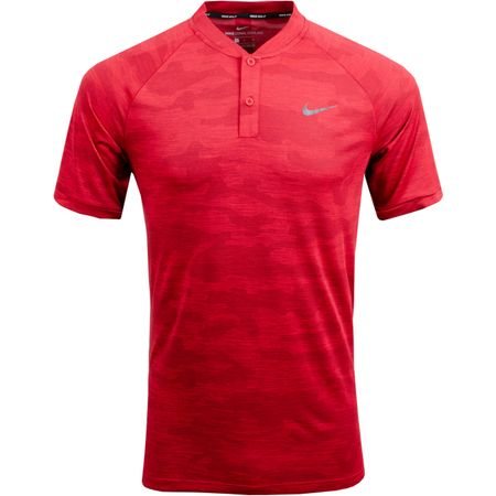 Golf undefined TW Vapor Zonal Cooling Camo Polo Gym Red - SS19 made by Nike Golf