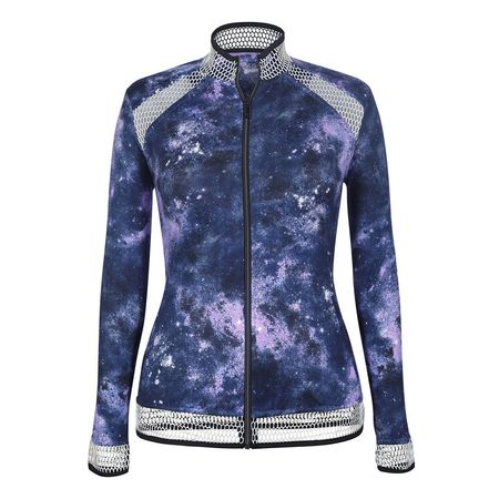 Golf undefined Tail Galaxy Print Full-Zip Jacket made by Tail Activewear
