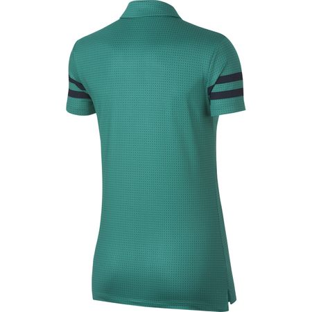 Golf undefined Nike Women's Dry Printed Golf Polo made by Nike Golf