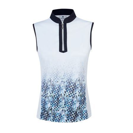 Golf undefined Daily Sports Dilara White Sleeveless Polo made by Daily Sports