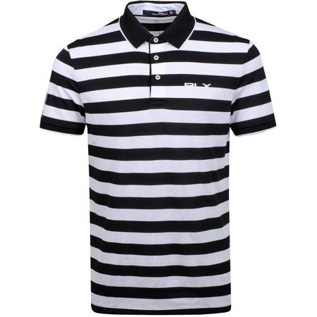Golf undefined Bold Stripe Tech Pique Polo Black/Pure White - SS19 made by Polo Ralph Lauren