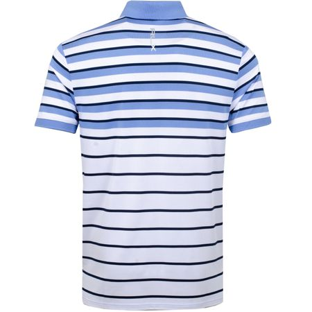 Golf undefined Engineered Stripe Polo Pure White/Cabana Blue - SS19 made by Polo Ralph Lauren