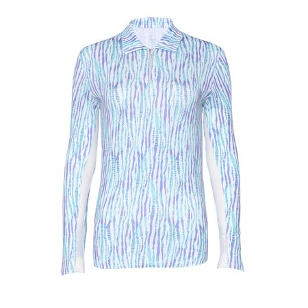 Golf undefined Bette & Court Exotica Long Sleeve Quarter Zip made by Bette & Court
