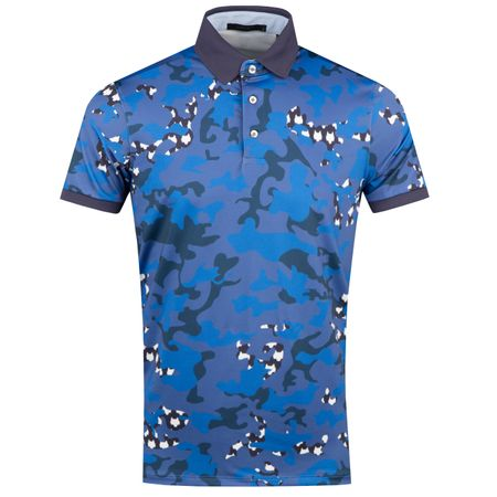Golf undefined Icon Camo Polo Abyss - AW18 made by Greyson