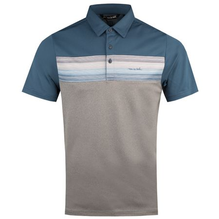 Polo The Hiccup Blue Wing Teal - AW18 TravisMathew Picture