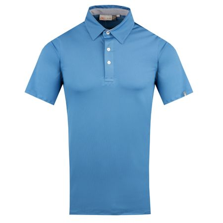 Golf undefined Soren Polo Solid Blue Stone - AW18 made by Kjus