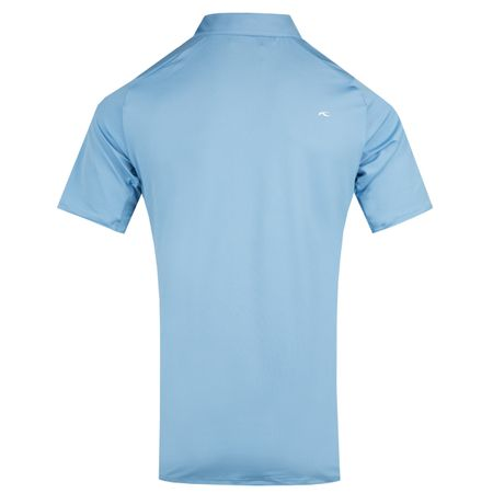 Golf undefined Soren Polo Solid Silver Lake Blue - AW18 made by Kjus