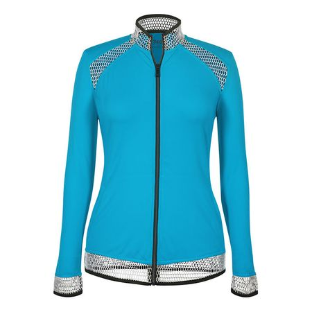 Golf undefined Tail Solid Full-Zip Jacket made by Tail Activewear