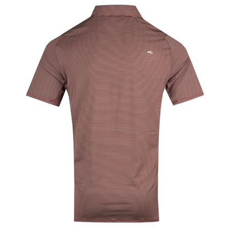 Golf undefined Soren Stripe Polo Red/Steel Grey - AW18 made by Kjus