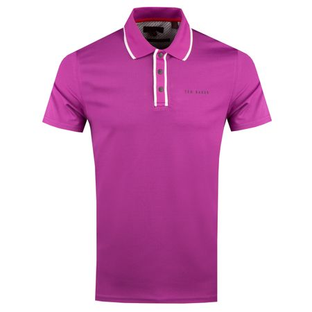 Golf undefined Bunka Polo Dark Purple - AW18 made by Ted Baker