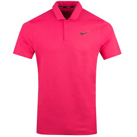 Golf undefined Aeroreact Victory Polo Rush Pink/Black - AW18 made by Nike Golf