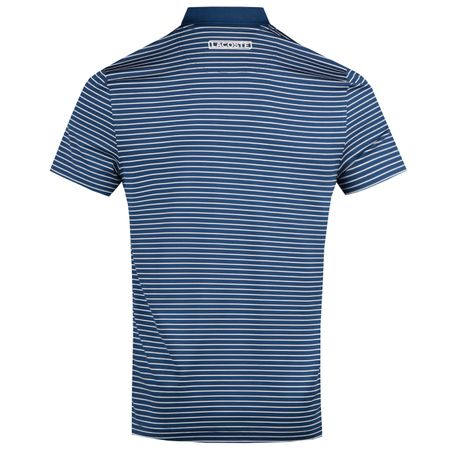 Golf undefined Striped Polo Inkwell/White - AW18 made by Lacoste