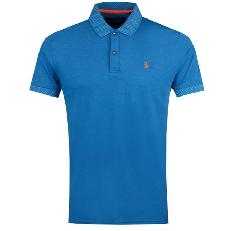 Polo Two Tone Jersey Polo Turkish Sea - AW18 Original Penguin Picture