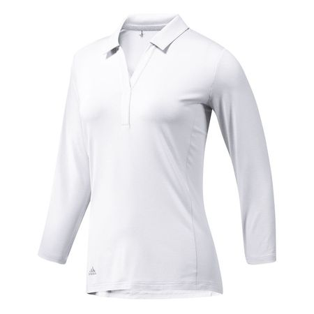Golf undefined Adidas Rangewear 3/4 Sleeve Polo made by Adidas Golf