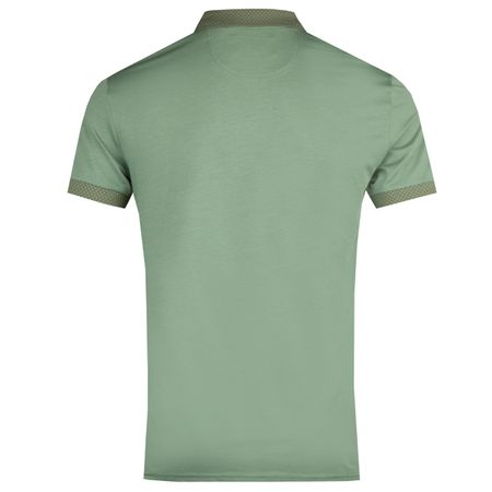Golf undefined Two Tone Jersey Polo Duck Green - AW18 made by Original Penguin