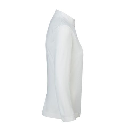 Shirt Daily Sports Novalie Ivory Long Sleeve Half Neck Daily Sports Picture