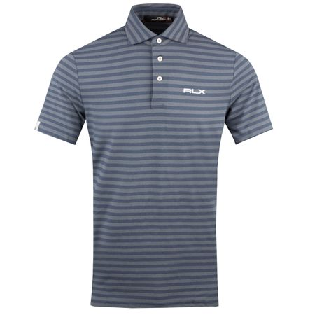 Golf undefined Striped Airflow Jersey Winter Navy Heather - AW18 made by Polo Ralph Lauren