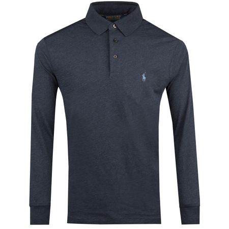 Polo Performance Wool LS Polo Winter Navy Heather - AW18 Polo Ralph Lauren Picture