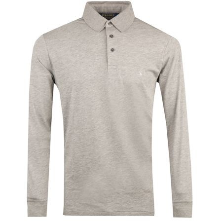 Golf undefined Performance Wool LS Polo Steel Heather - AW18 made by Polo Ralph Lauren